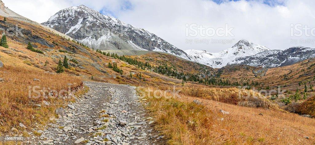 High Mountain Road stock photo