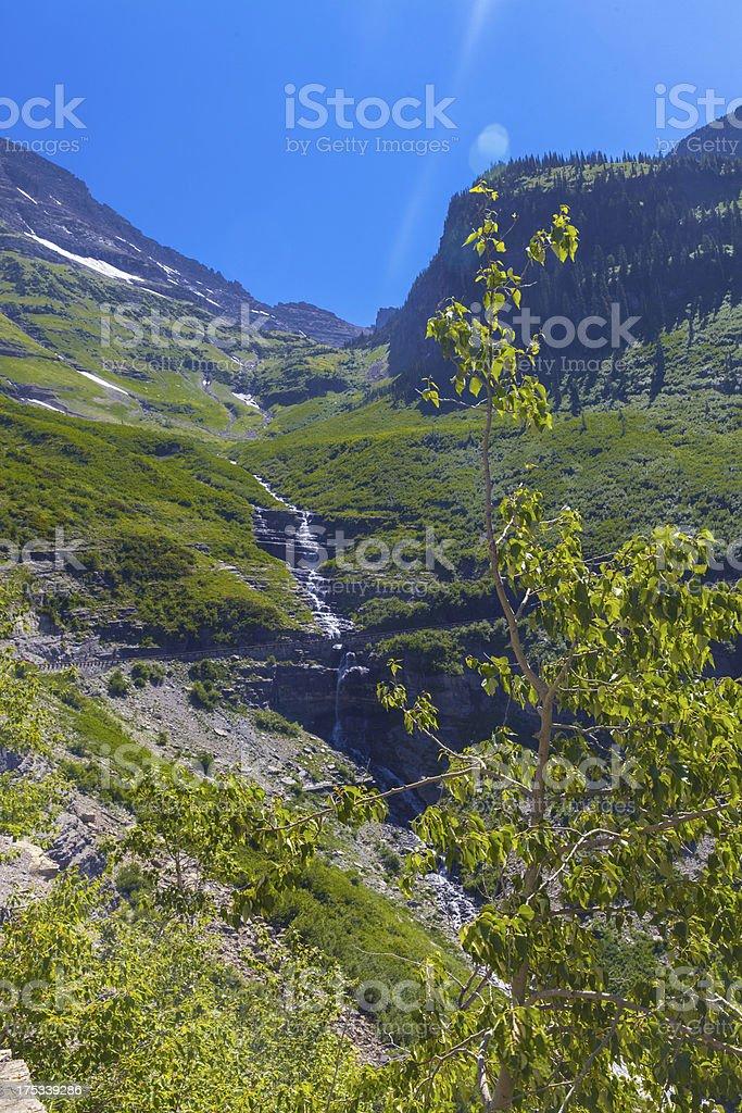 High Mountain Valley royalty-free stock photo