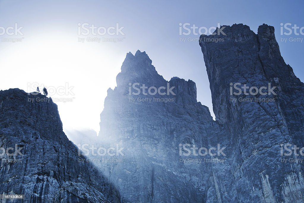 High mountains royalty-free stock photo