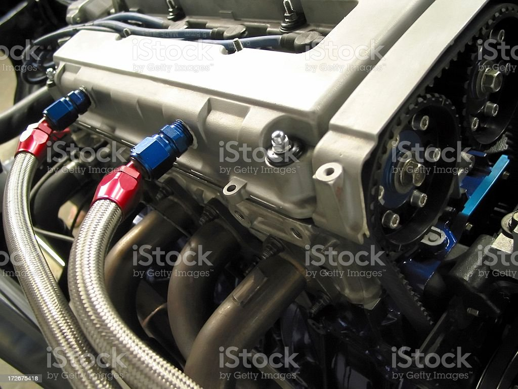 High Performance Engine royalty-free stock photo