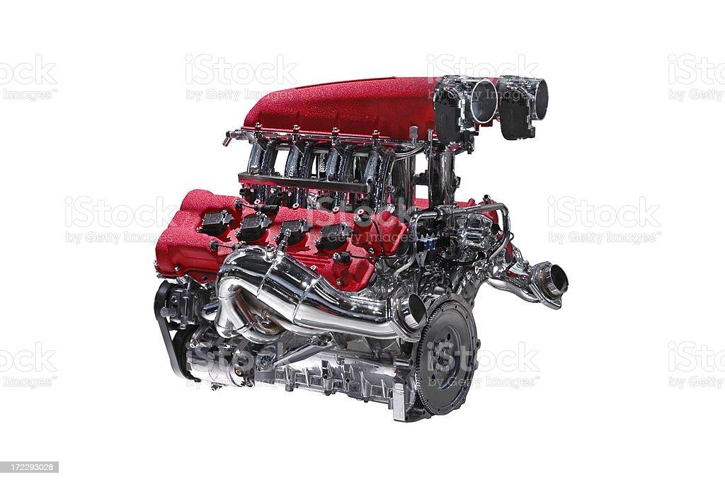 High Performance Motor royalty-free stock photo