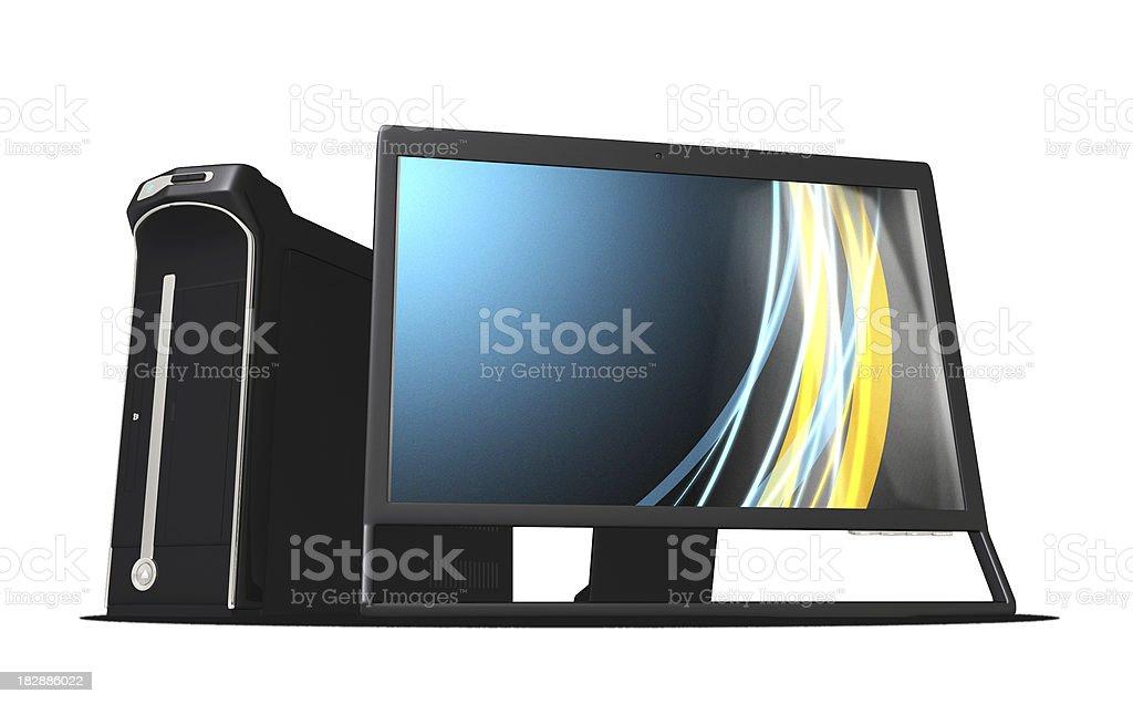 High Performance PC stock photo