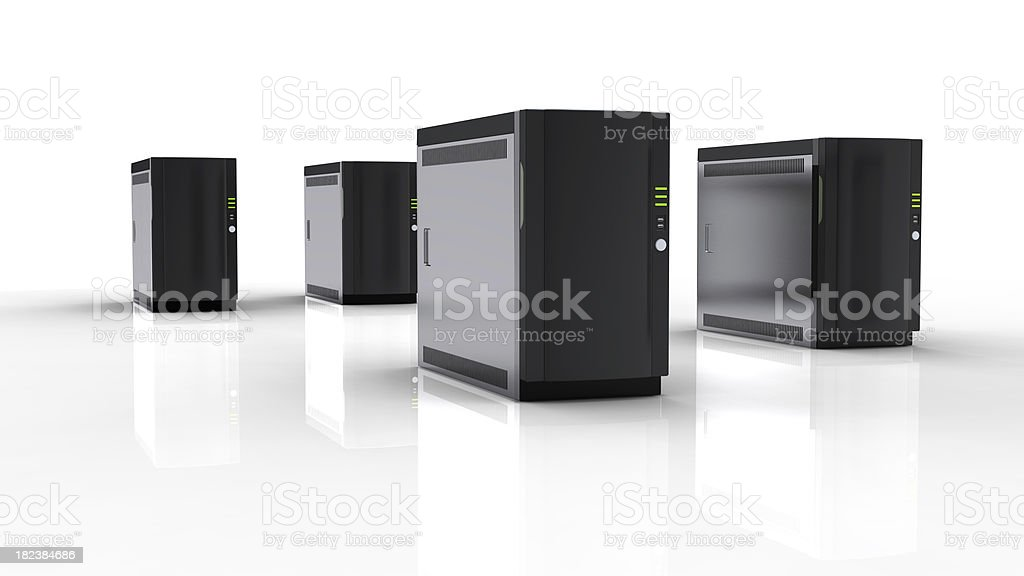 High Performance Server or PC royalty-free stock photo