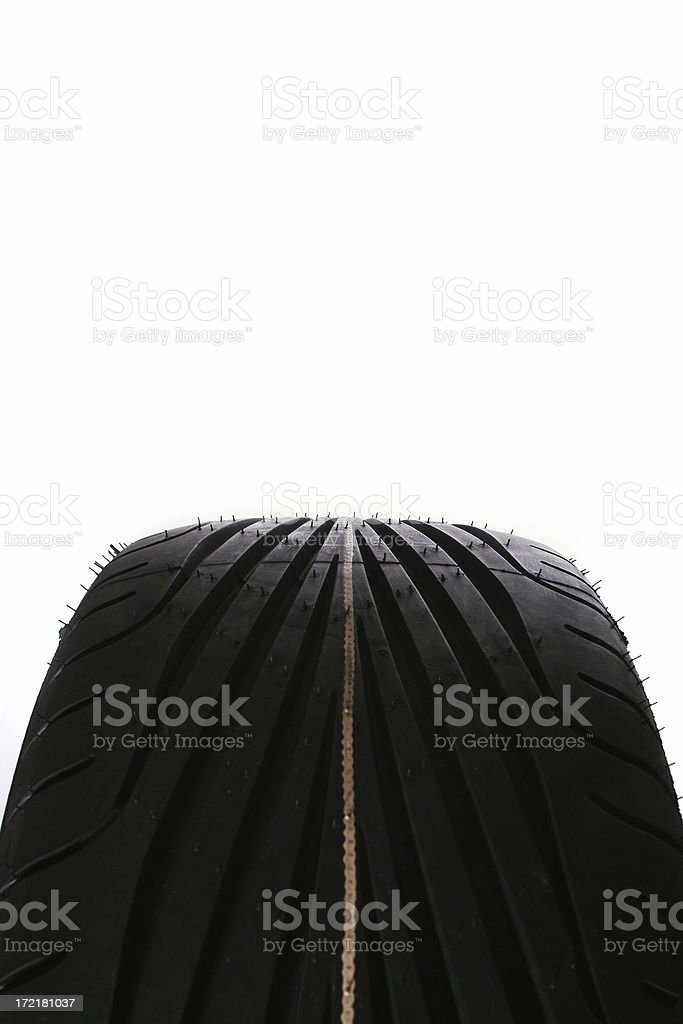 High performance tire royalty-free stock photo