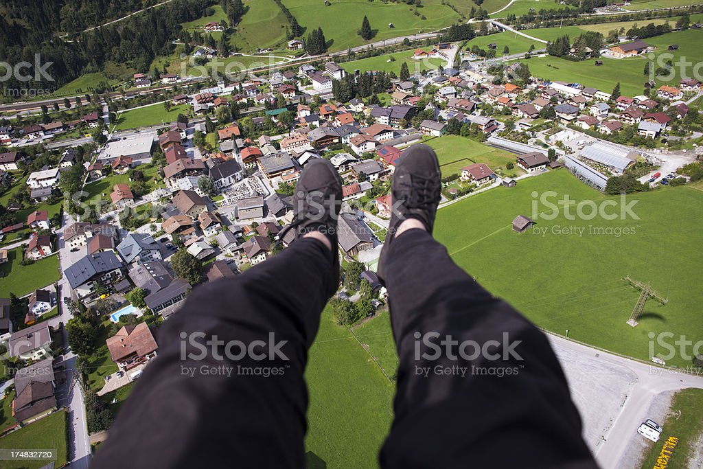 High Perspective royalty-free stock photo
