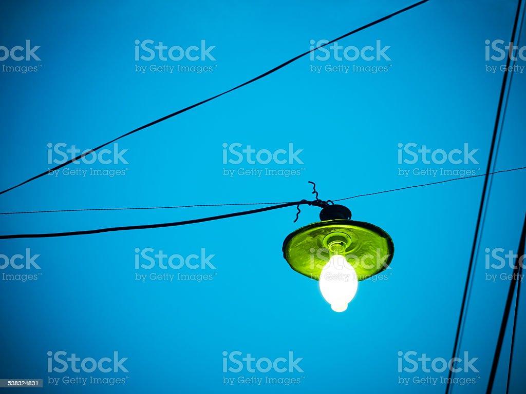 high power mercury lamp stock photo