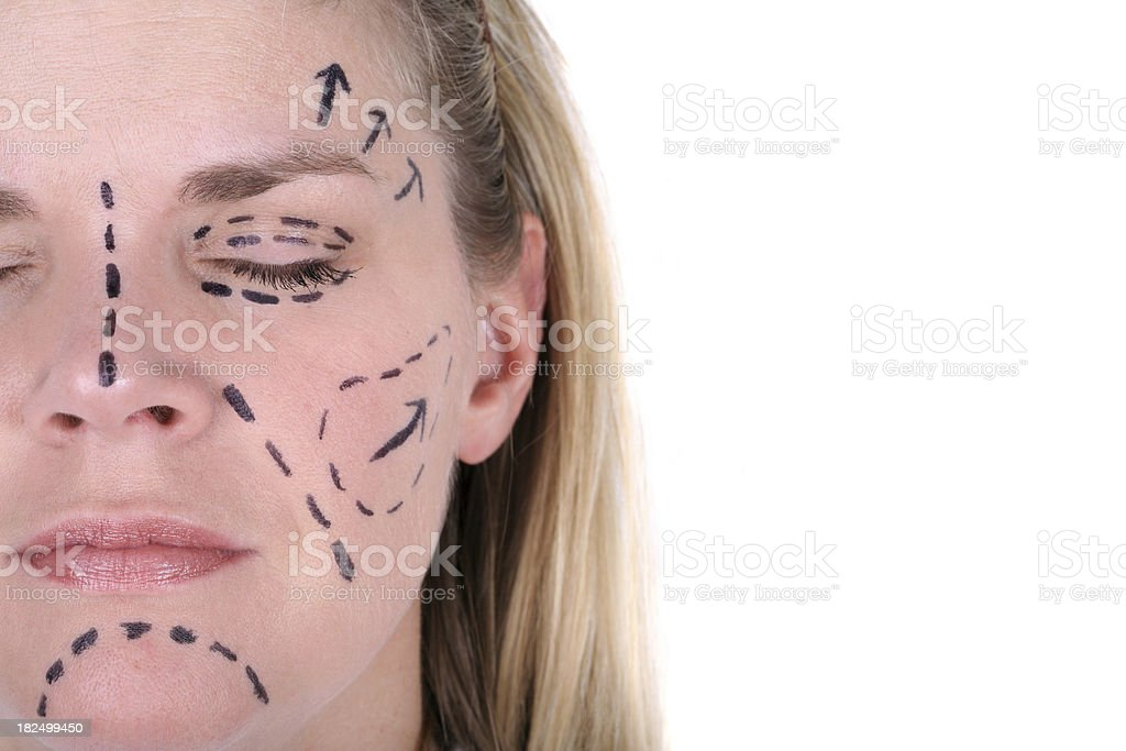 High Price of Beauty stock photo