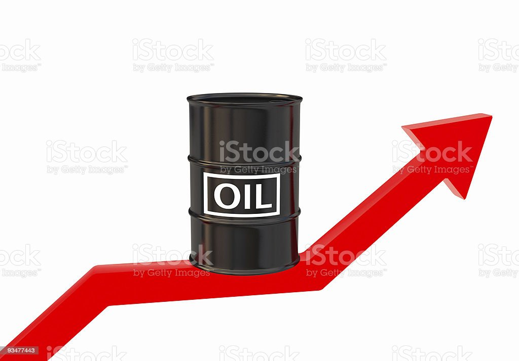 High Price of Oil stock photo