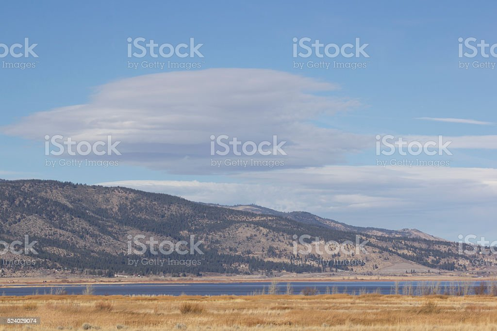 High Quality Clouds in the wind stock photo