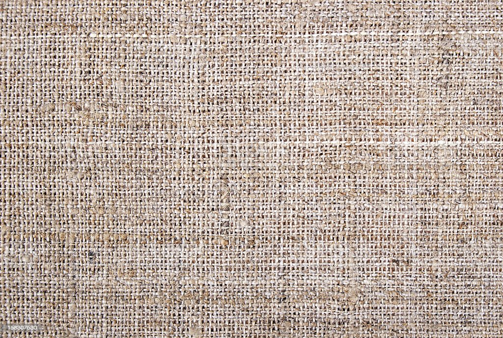 High Quality Hessian, Burlap, Sacking Background, Texture royalty-free stock photo