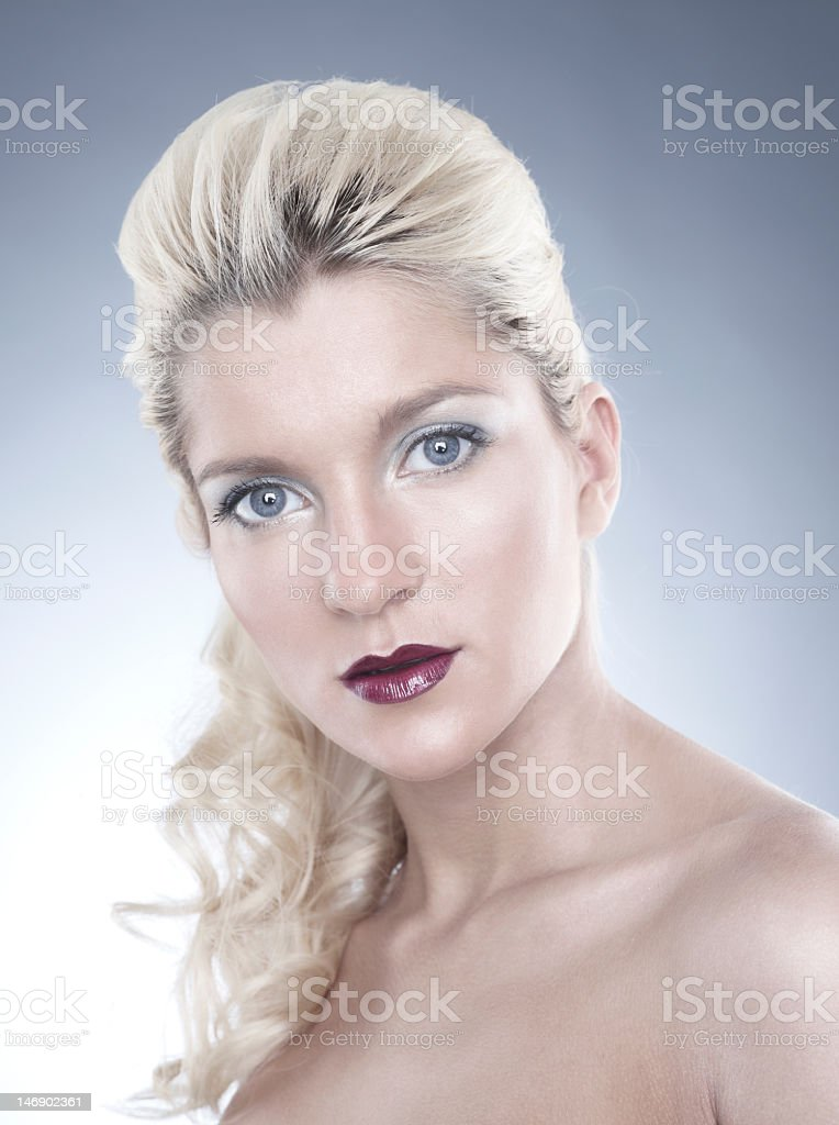 High quality portrait royalty-free stock photo