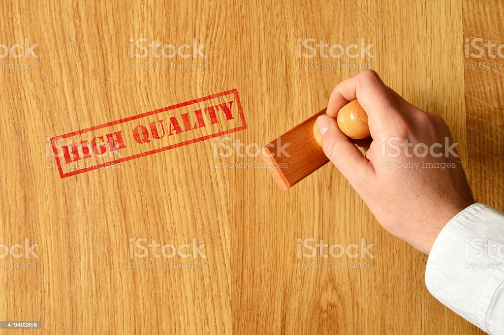 High Quality Wooden Floor (Click for more) stock photo