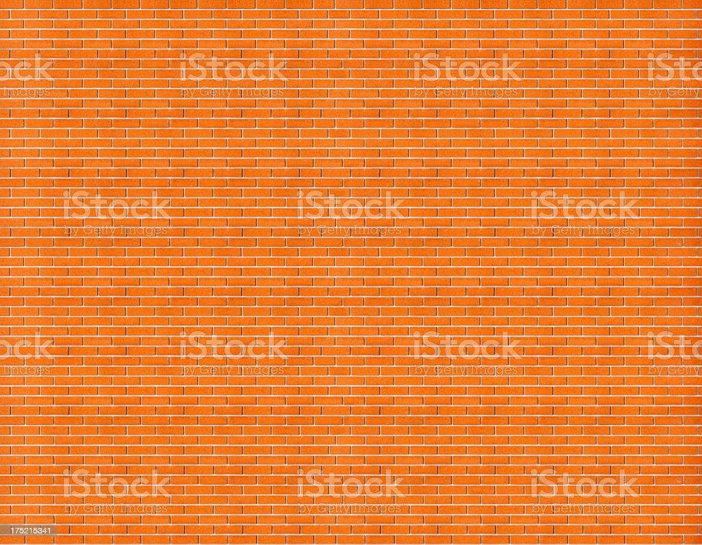 High Res Brick Wall Texture royalty-free stock photo