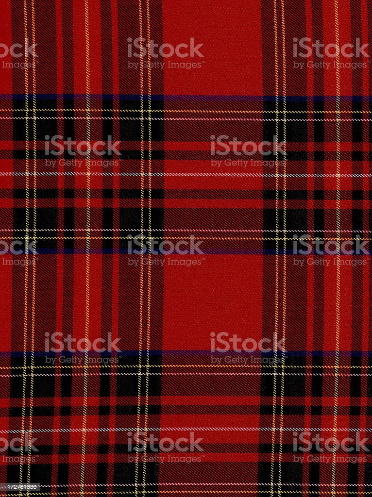 High resloution plaid fabric royalty-free stock photo