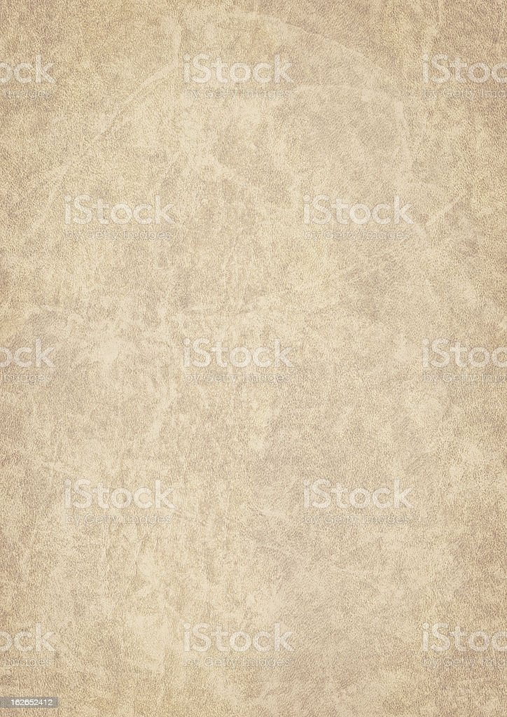 High Resolution Antique Animal Skin Parchment Vignette Grunge Texture royalty-free stock photo