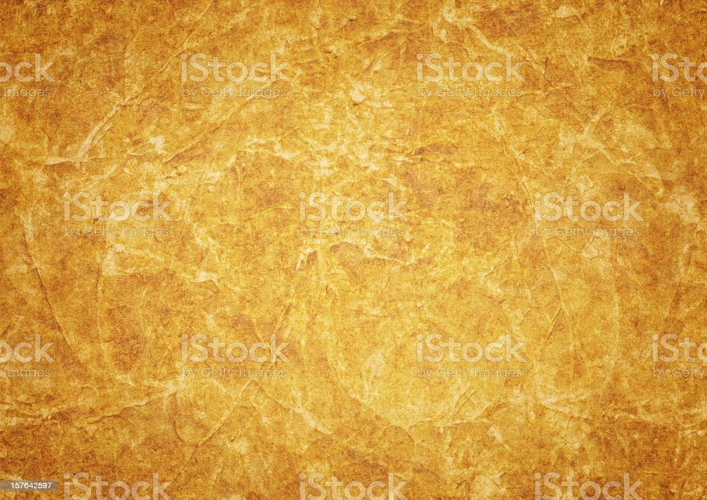 High Resolution Antique Animal Skin Parchment Vignetted Grunge Texture royalty-free stock photo