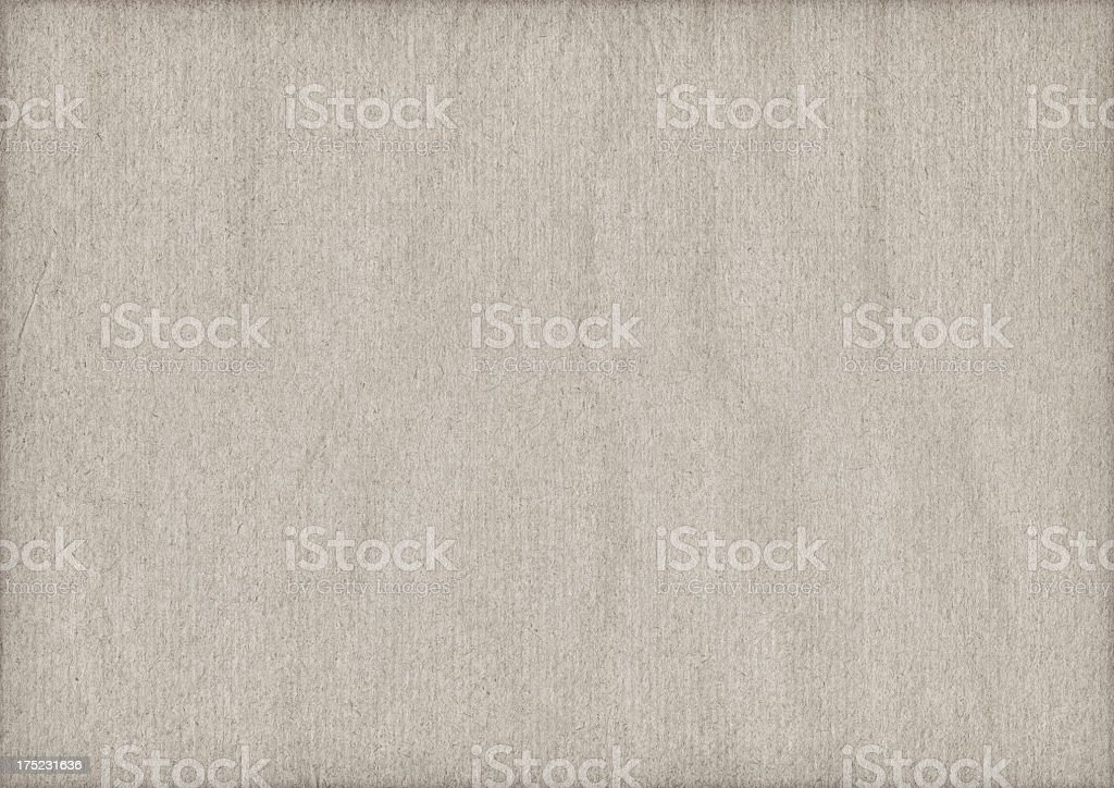 High Resolution Antique Beige Kraft Paper Crumpled Vignette Grunge Texture royalty-free stock photo