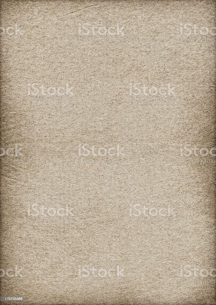 High Resolution Antique Beige Paper Crumpled Vignette Grunge Texture royalty-free stock photo