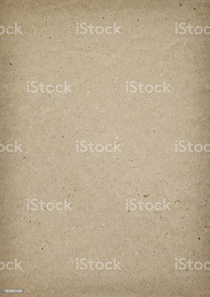 High Resolution Antique Brown Kraft Recycled Paper Grunge Texture stock photo