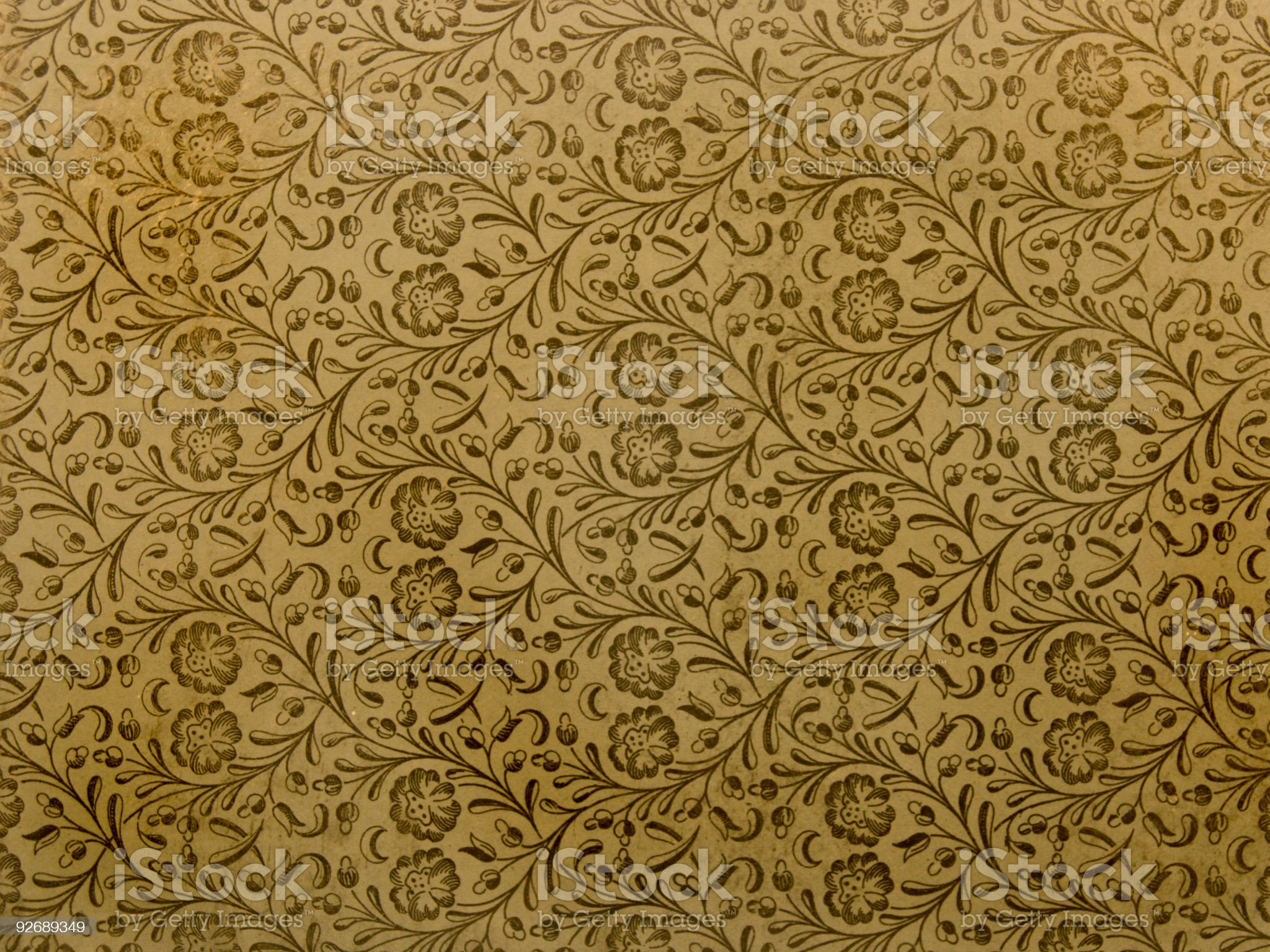 High Resolution Antique Faded Book Paper royalty-free stock photo