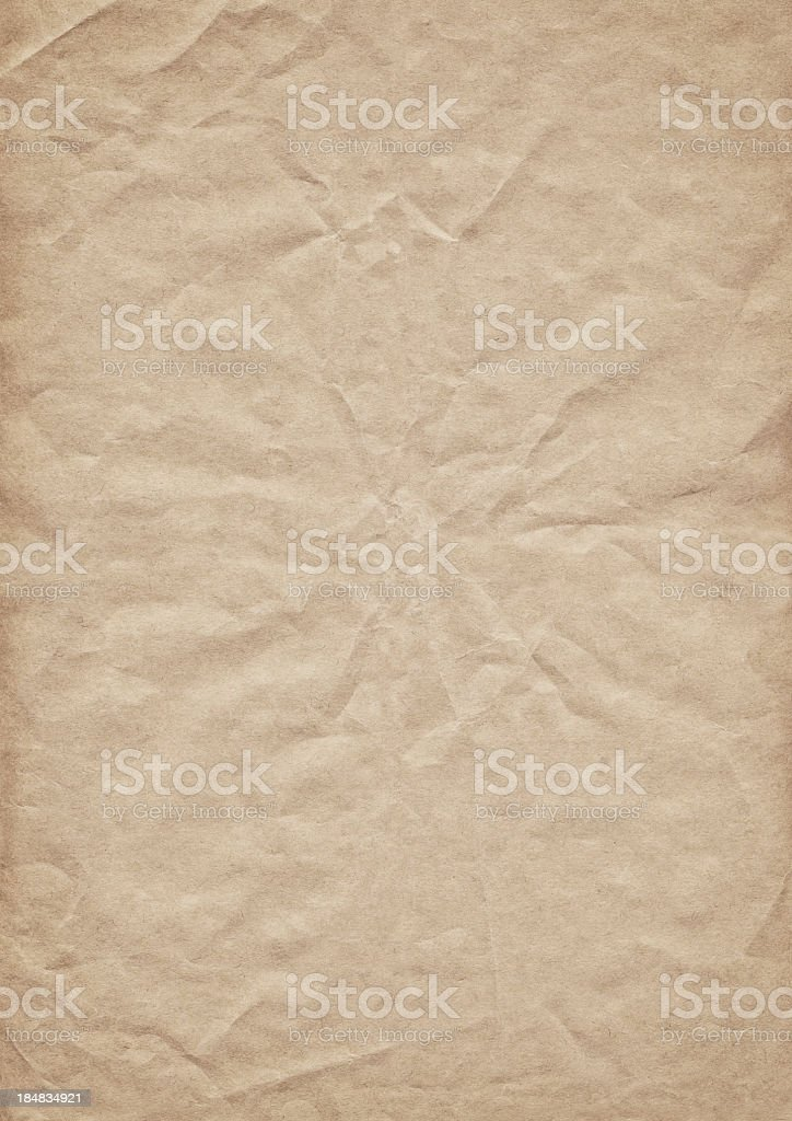 High Resolution Antique Paper Vignette Grunge Texture Sample royalty-free stock photo