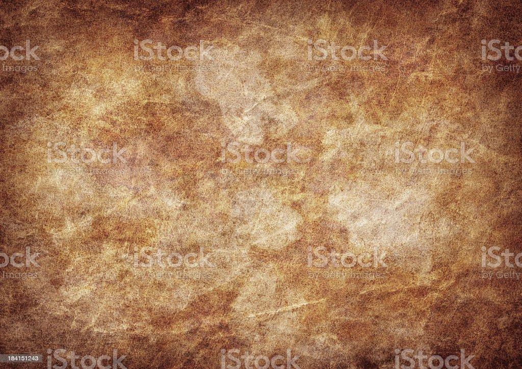 High Resolution Antique Parchment Wizened Dappled  Vignette GrungeTexture stock photo