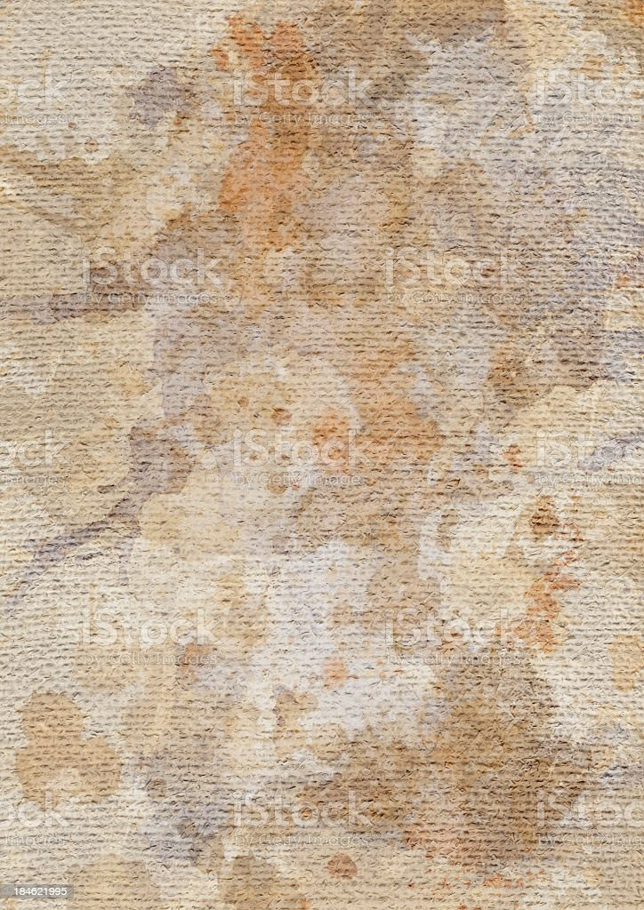 High Resolution Artist Jute Canvas Coarse Grain Mottled Texture royalty-free stock photo