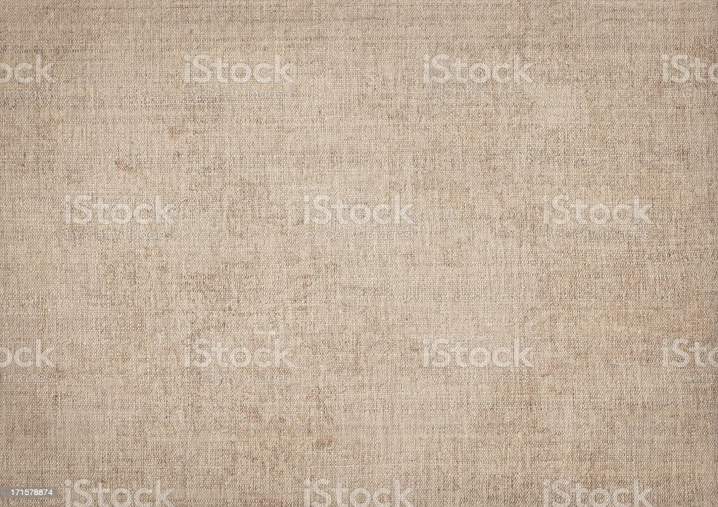 High Resolution Artist Natural Linen Canvas Grunge Texture royalty-free stock photo
