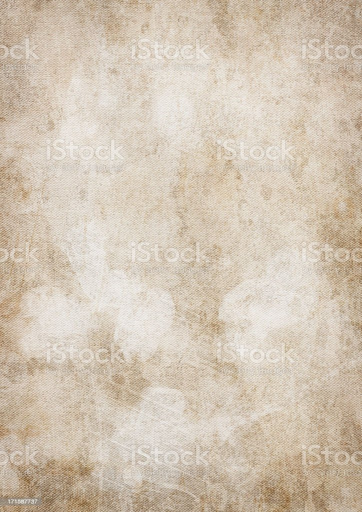 High Resolution Artist Primed Cotton Duck Vignetted Grunge Canvas Texture stock photo
