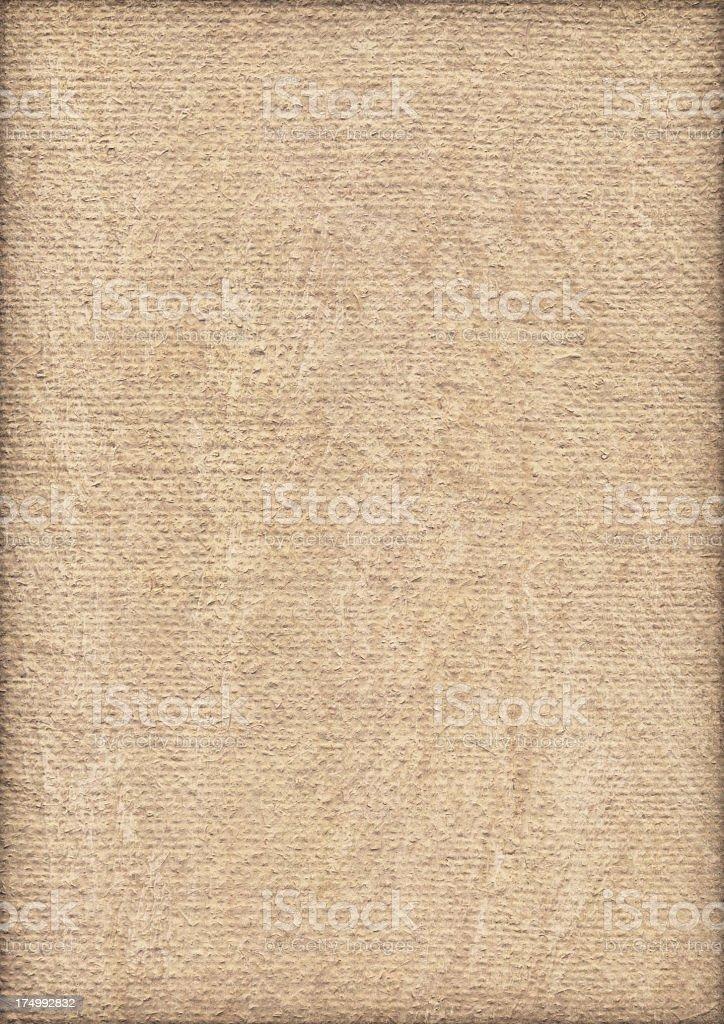 High Resolution Artist Primed Jute Canvas Coarse Grunge Texture stock photo