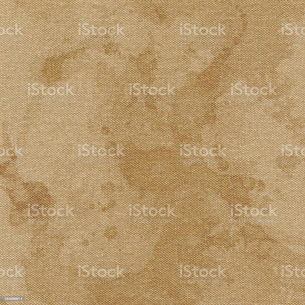 High Resolution  Artist Unprimed Cotton Duck Canvas Mottled Texture stock photo