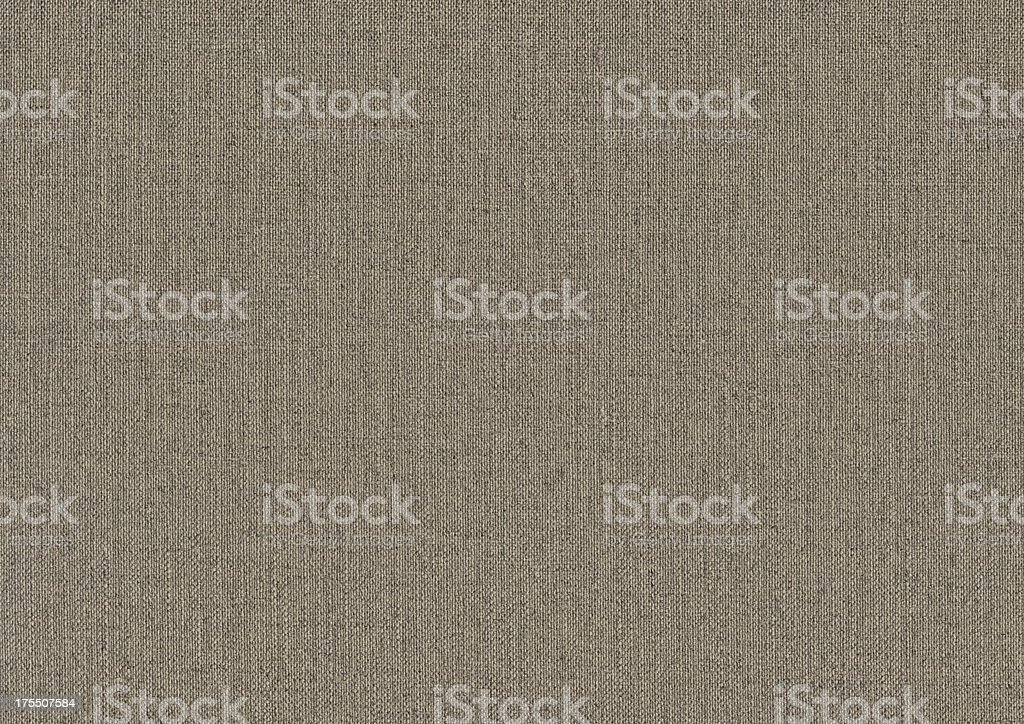 High Resolution Artist's Coarse Unprimed Linen Duck Canvas Grunge Texture royalty-free stock photo