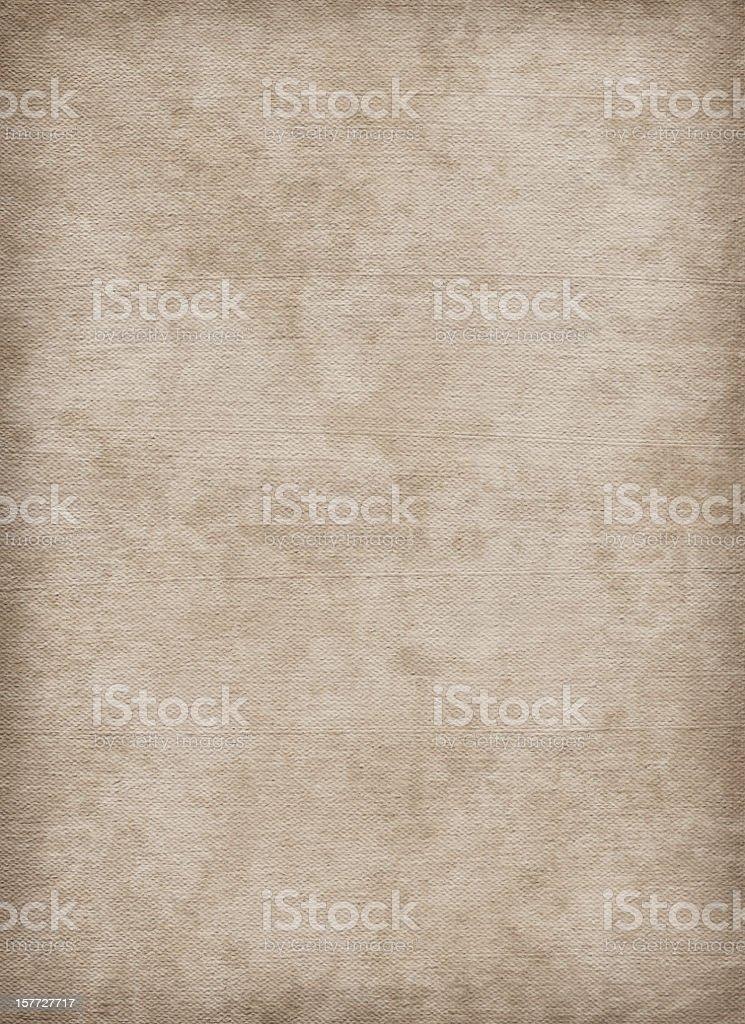 High Resolution Artist's Cotton Canvas Mottled Blotted Vignette Grunge Texture stock photo