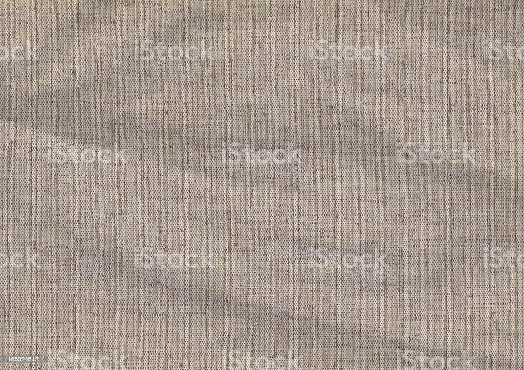 High Resolution Artist's Linen Duck Canvas Crumpled Grunge Texture stock photo