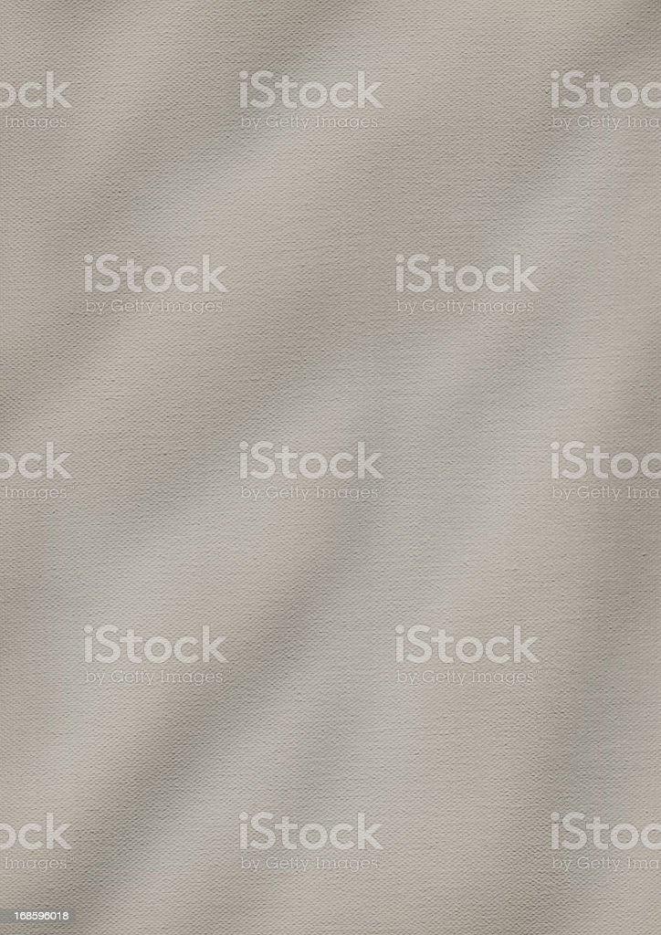 High Resolution Artist's Primed Cotton Duck Canvas Crumpled Grunge Texture stock photo