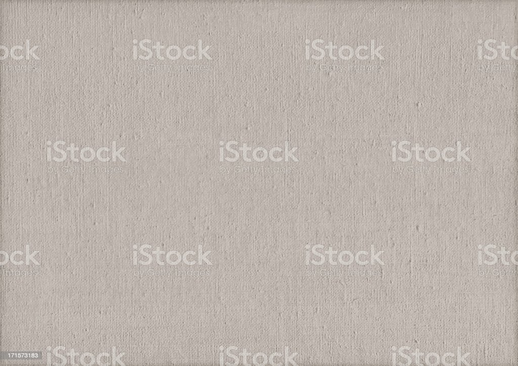 High Resolution Artist's Primed Linen Canvas Texture royalty-free stock photo