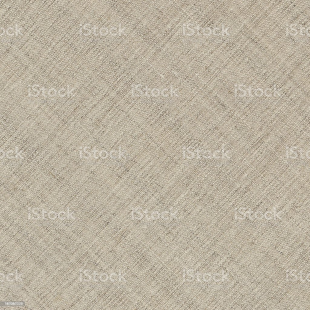 High Resolution Artist's Unprimed Linen Canvas Texture royalty-free stock photo