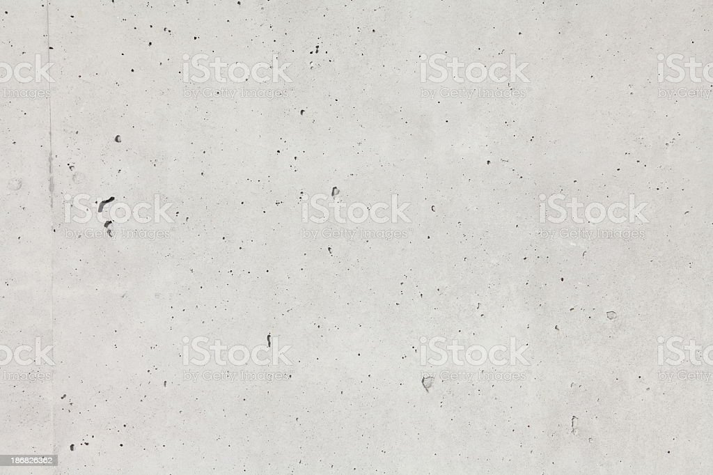High resolution background of textured beige concrete wall stock photo