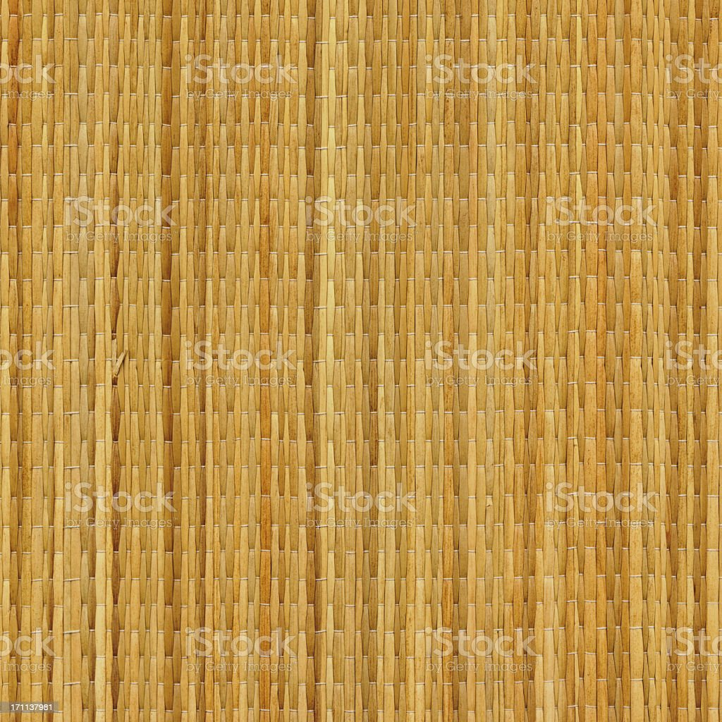 High Resolution Beach Straw Mat Texture Sample royalty-free stock photo