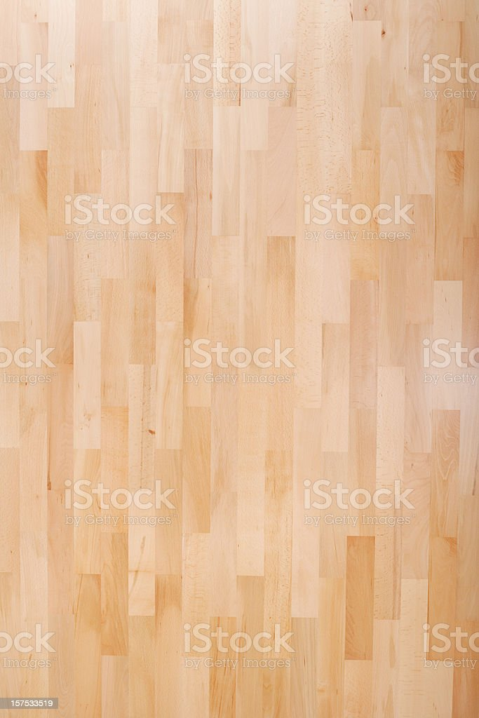 High resolution Beech parquet panel stock photo