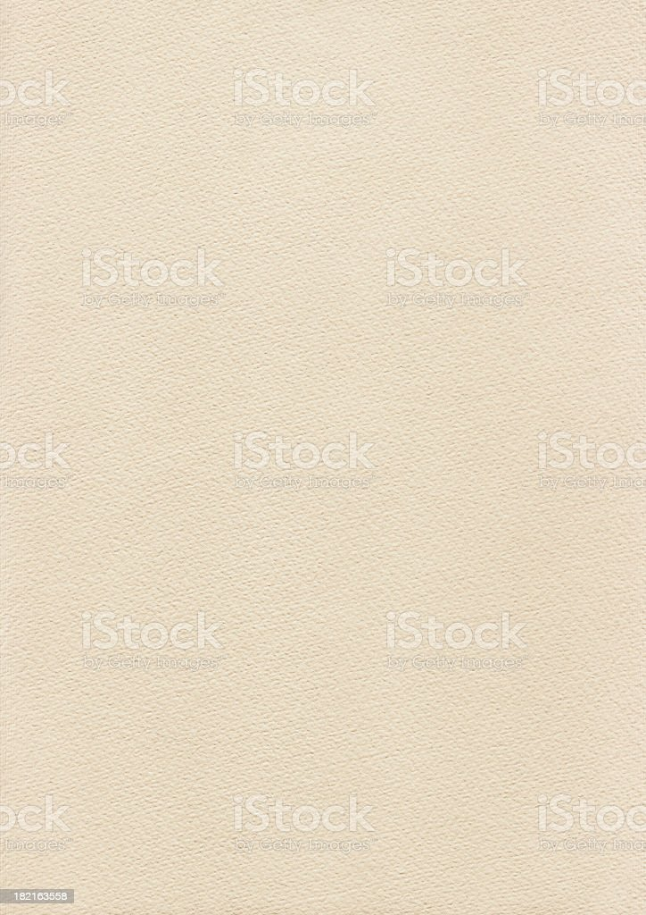High Resolution Beige Card Stock Watercolor Paper Texture stock photo