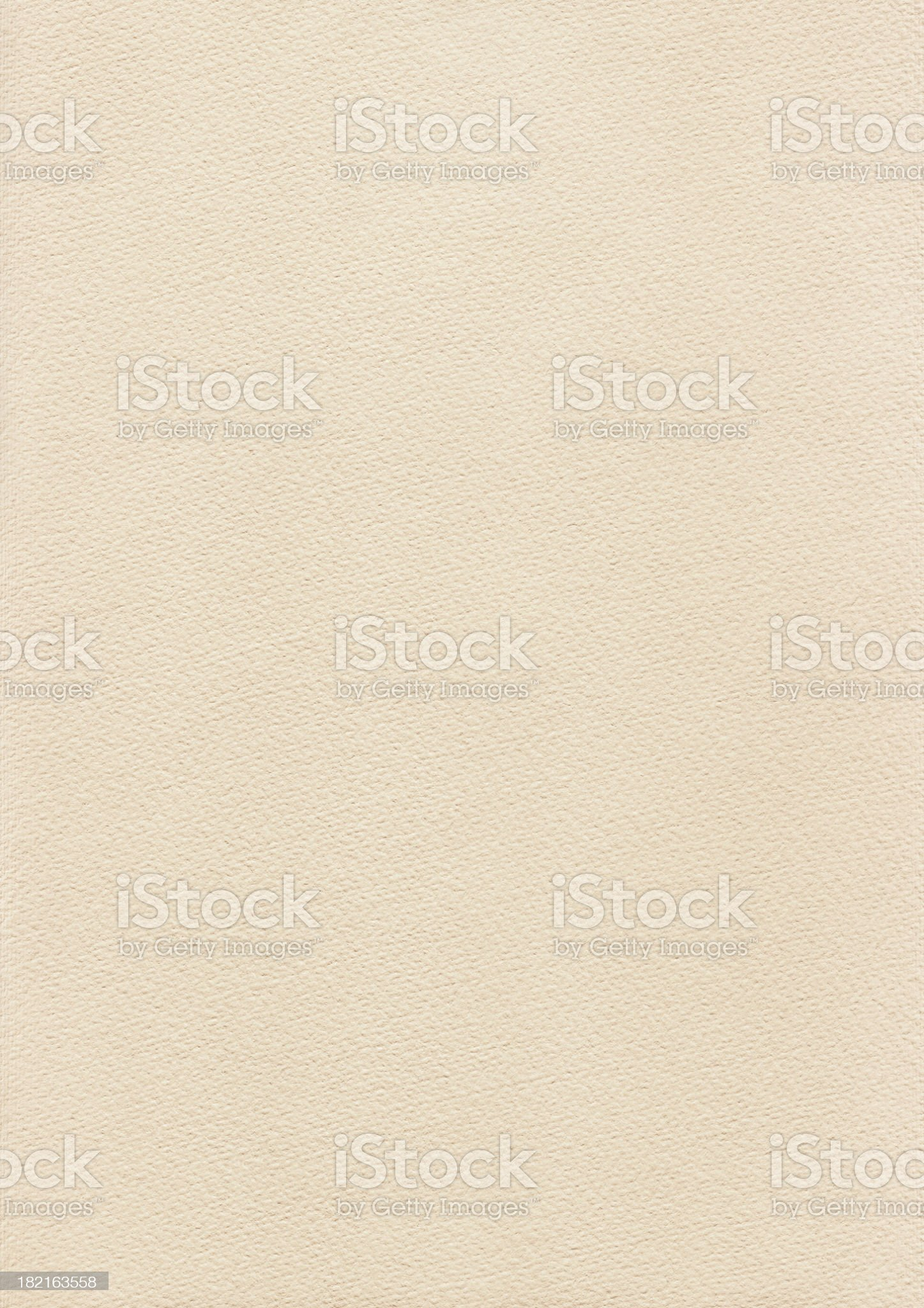 High Resolution Beige Card Stock Watercolor Paper Texture royalty-free stock photo