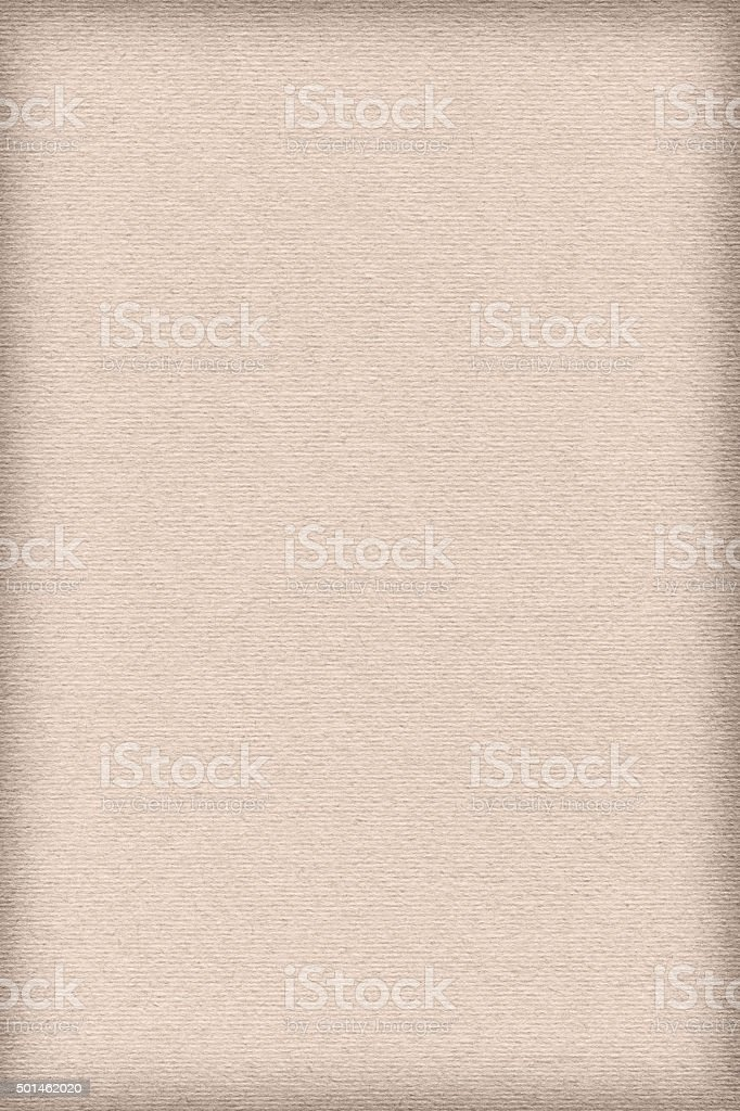 High Resolution Beige Pastel Paper Striped Vignette Grunge Texture stock photo