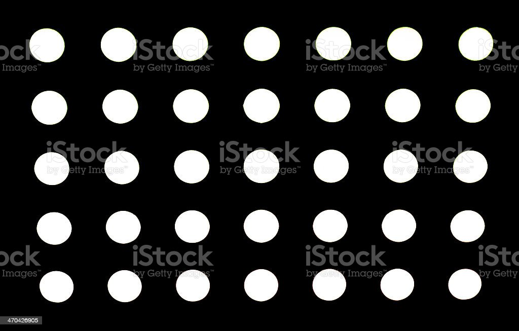 High Resolution Black Fabric Black Polka Dots Texture and Background royalty-free stock photo