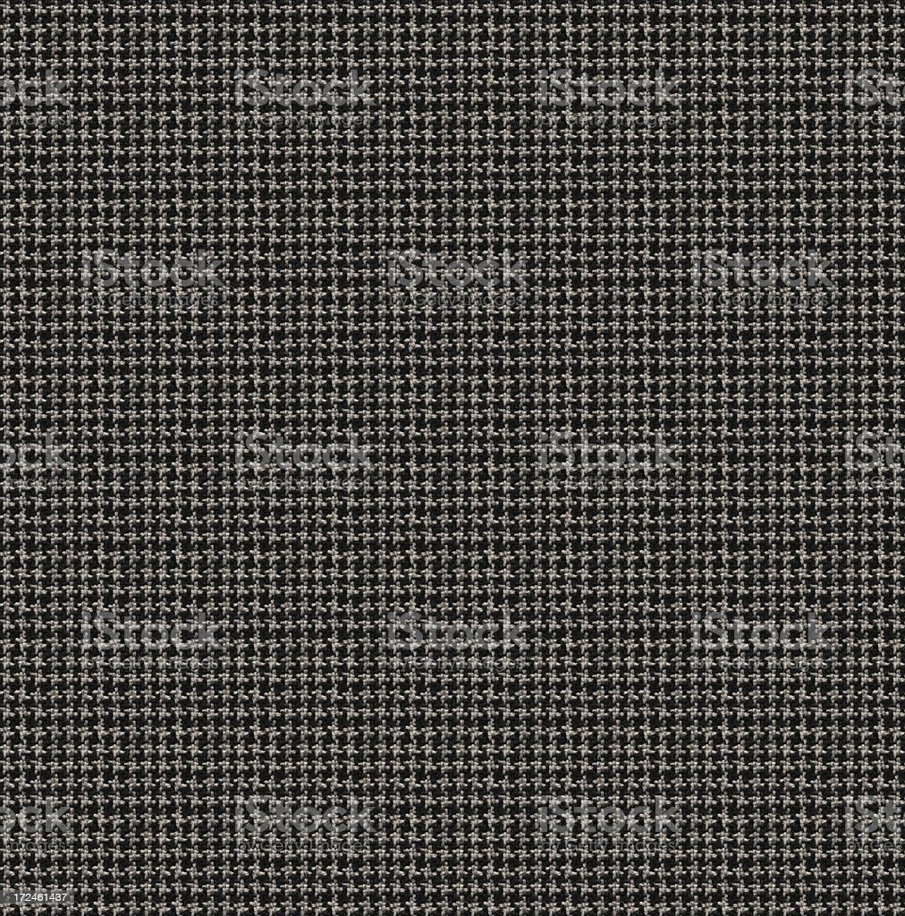 High Resolution Black HoundstoothTextile stock photo