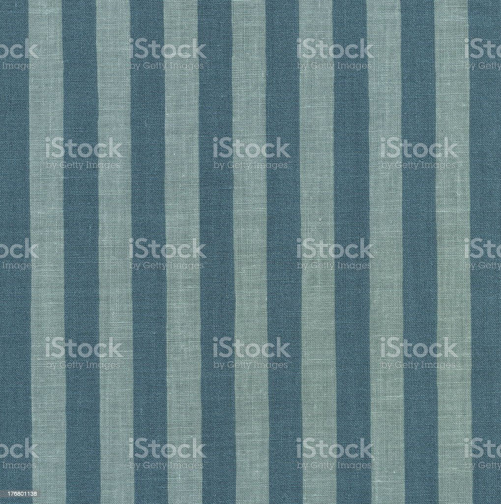 High Resolution Blue Green Striped Fabric for Backgrounds XXXL royalty-free stock photo
