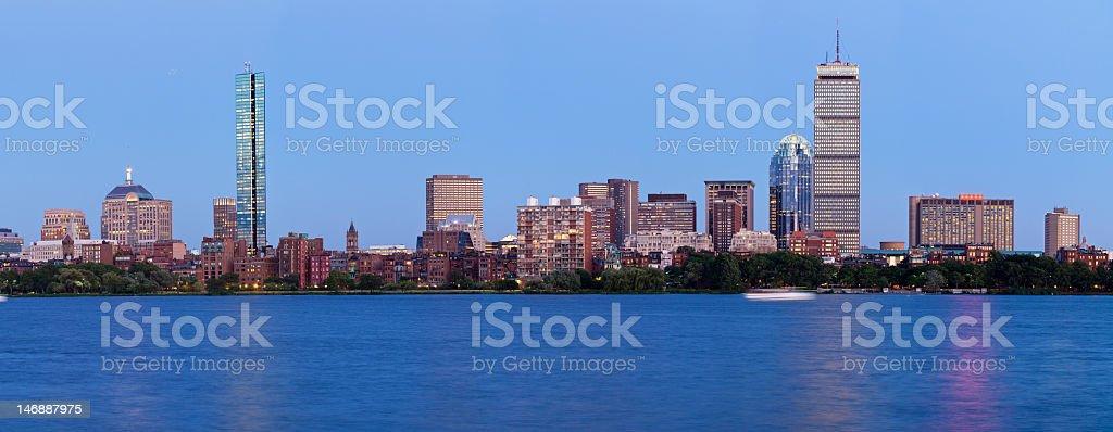 High Resolution Boston skyline royalty-free stock photo