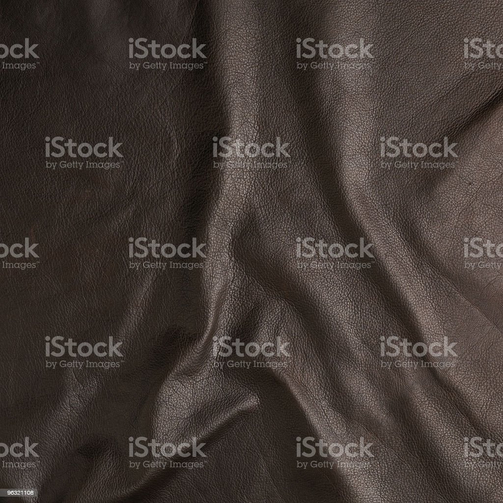 High resolution brown leather royalty-free stock photo