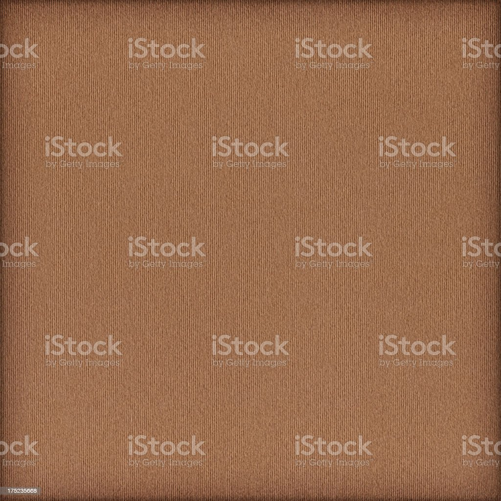 High Resolution Brown Striped Pastel Paper Coarse Vignette Grunge Texture royalty-free stock photo