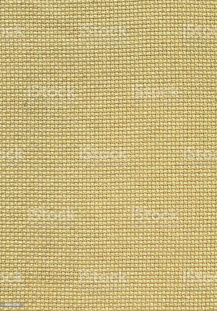 High Resolution Burlap royalty-free stock photo